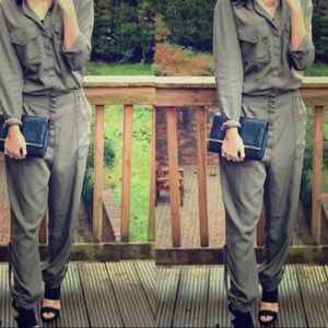 H&M Army Green Jumpsuit